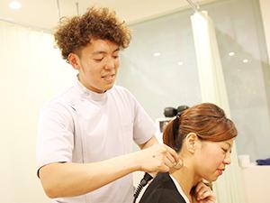 横須賀悠整骨院 ハイボルテージで痛みを取り除く