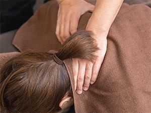 痛みの緩和施術